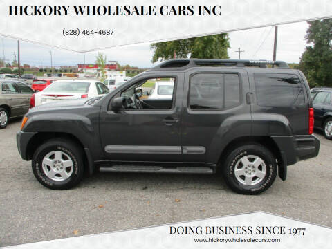 2007 Nissan Xterra for sale at Hickory Wholesale Cars Inc in Newton NC