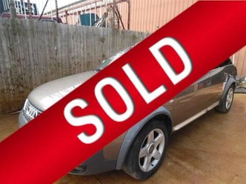 2004 Audi Allroad for sale at East Coast Auto Source Inc. in Bedford VA