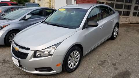 2011 Chevrolet Cruze for sale at Howe's Auto Sales in Lowell MA