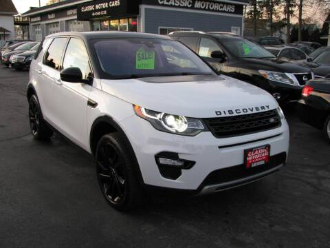 2015 Land Rover Discovery Sport for sale at CLASSIC MOTOR CARS in West Allis WI