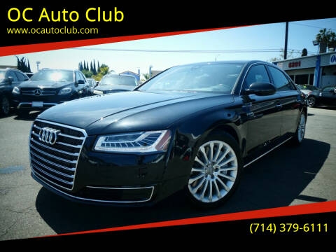 2015 Audi A8 L for sale at OC Auto Club in Midway City CA
