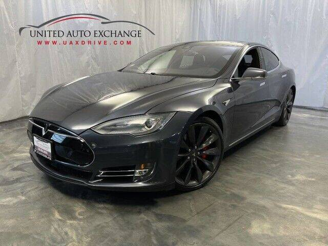 2015 Tesla Model S for sale at United Auto Exchange in Addison IL