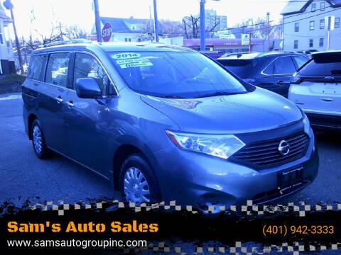 2014 Nissan Quest for sale at Sam's Auto Sales in Cranston RI