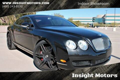 2004 Bentley Continental for sale at Insight Motors in Tempe AZ