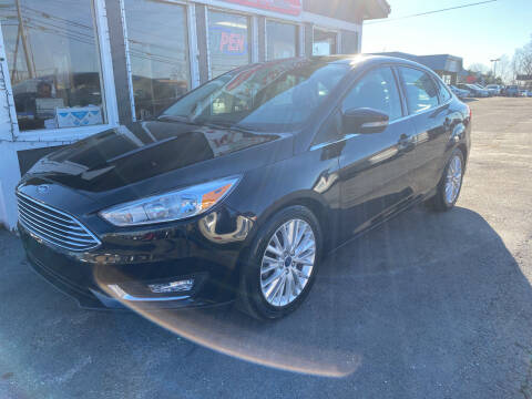 2018 Ford Focus for sale at Martins Auto Sales in Shelbyville KY
