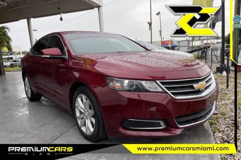 2017 Chevrolet Impala for sale at Premium Cars of Miami in Miami FL