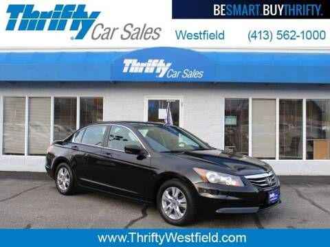 2012 Honda Accord for sale at Thrifty Car Sales Westfield in Westfield MA