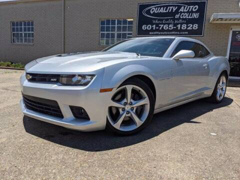 2015 Chevrolet Camaro for sale at Quality Auto of Collins in Collins MS