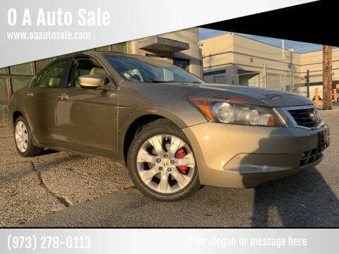 2009 Honda Accord for sale at O A Auto Sale in Paterson NJ