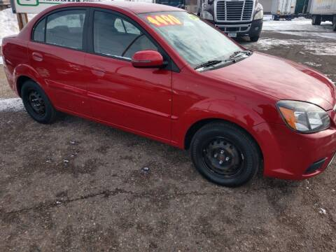 2010 Kia Rio for sale at Kull N Claude in Saint Cloud MN