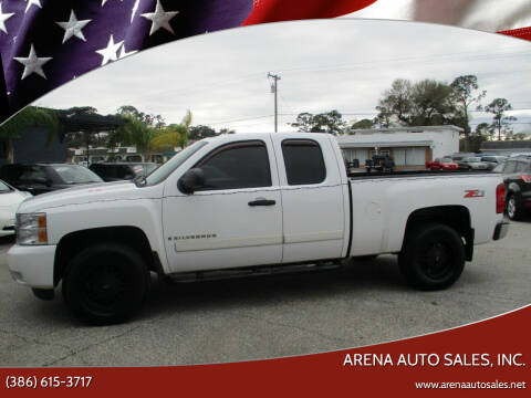 2008 Chevrolet Silverado 1500 for sale at ARENA AUTO SALES,  INC. in Holly Hill FL