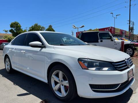 2012 Volkswagen Passat for sale at CARCO SALES & FINANCE #3 in Chula Vista CA