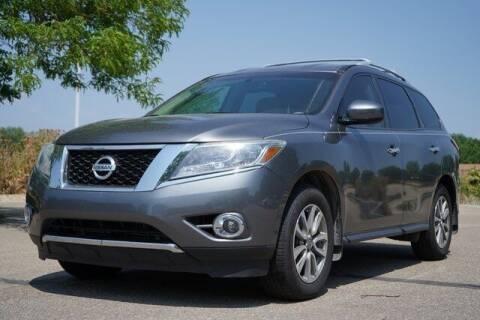 2015 Nissan Pathfinder for sale at COURTESY MAZDA in Longmont CO