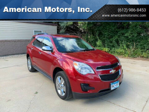 2014 Chevrolet Equinox for sale at American Motors, Inc. in Farmington MN