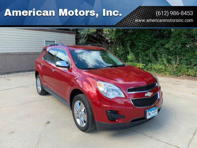 2014 Chevrolet Equinox for sale at American Motors, Inc. in Farmington MN