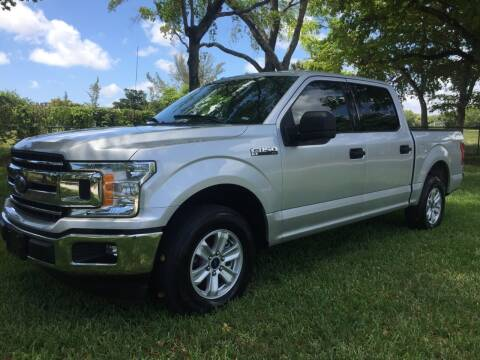 2018 Ford F-150 for sale at Top Trucks Motors in Pompano Beach FL