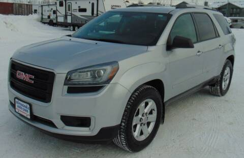 2016 GMC Acadia for sale at Dependable Used Cars in Anchorage AK