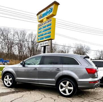 2011 Audi Q7 for sale at JEREMYS AUTOMOTIVE in Casco MI