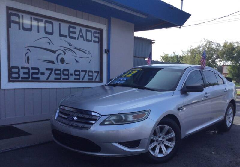 2012 Ford Taurus for sale at AUTO LEADS in Pasadena TX