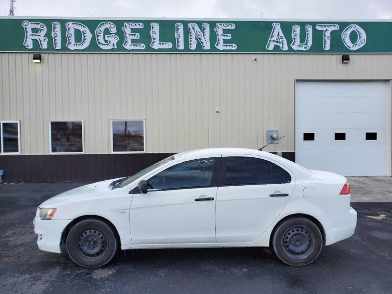 2008 Mitsubishi Lancer for sale at RIDGELINE AUTO in Chubbuck ID