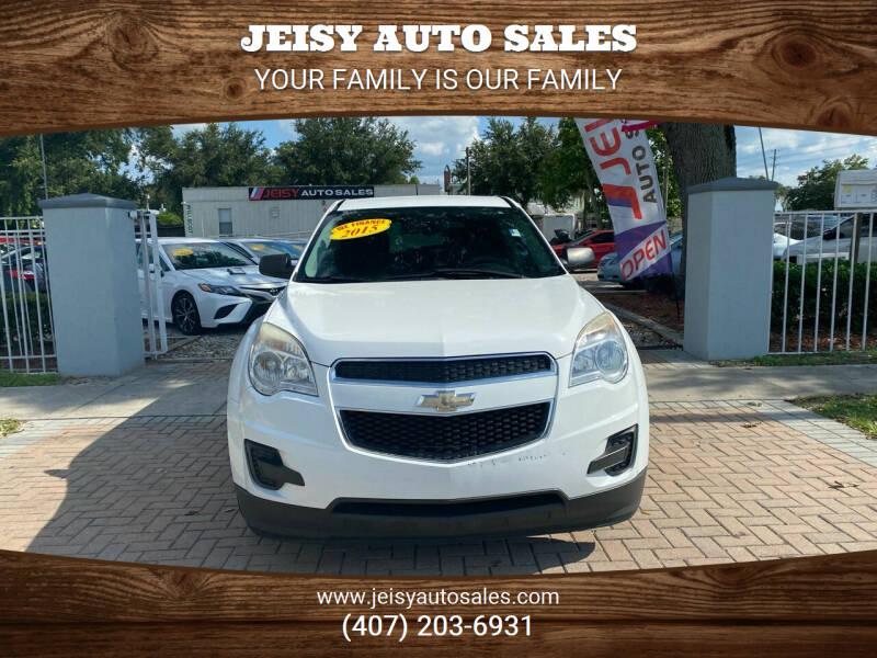 2015 Chevrolet Equinox for sale at JEISY AUTO SALES in Orlando FL