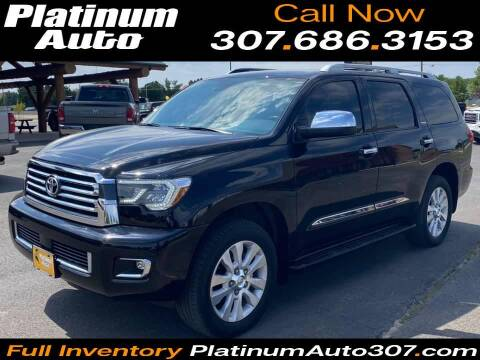 2020 Toyota Sequoia for sale at Platinum Auto in Gillette WY