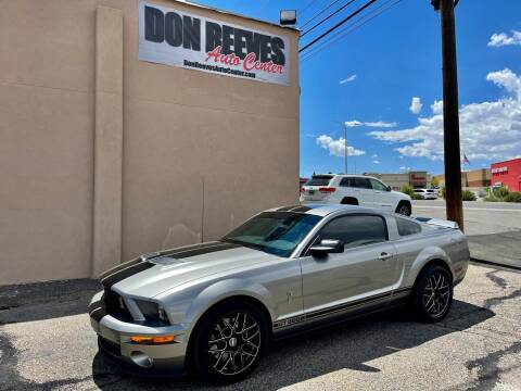 2009 Ford Shelby GT500 for sale at Don Reeves Auto Center in Farmington NM
