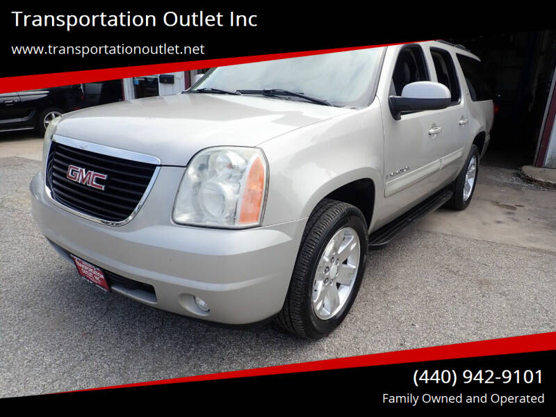 2008 GMC Yukon XL for sale at Transportation Outlet Inc in Eastlake OH