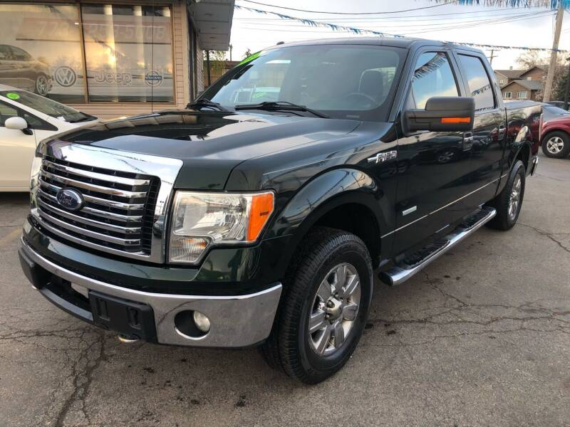 2012 Ford F-150 for sale at TOP YIN MOTORS in Mount Prospect IL