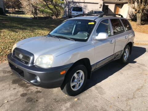2002 Hyundai Santa Fe for sale at Nice Cars in Pleasant Hill MO