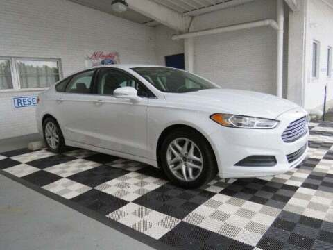 2015 Ford Fusion for sale at McLaughlin Ford in Sumter SC