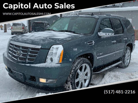 2010 Cadillac Escalade for sale at Capitol Auto Sales in Lansing MI