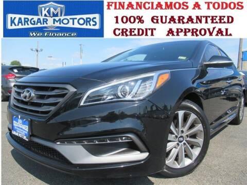 2015 Hyundai Sonata for sale at Kargar Motors of Manassas in Manassas VA