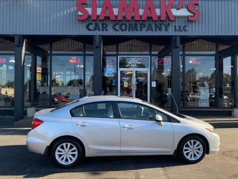 2012 Honda Civic for sale at Siamak's Car Company llc in Salem OR