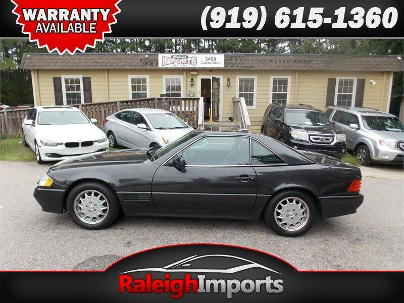 1992 Mercedes-Benz 500-Class for sale at Raleigh Imports in Raleigh NC