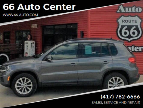 2015 Volkswagen Tiguan for sale at 66 Auto Center in Joplin MO