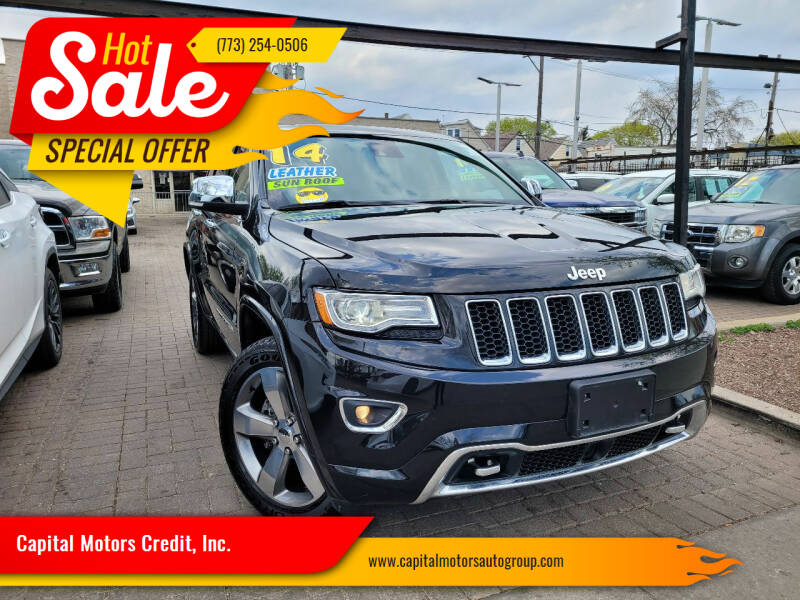 2014 Jeep Grand Cherokee for sale at Capital Motors Credit, Inc. in Chicago IL