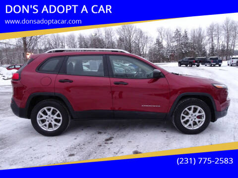 2014 Jeep Cherokee for sale at DON'S ADOPT A CAR in Cadillac MI