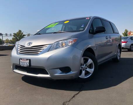2015 Toyota Sienna for sale at LUGO AUTO GROUP in Sacramento CA