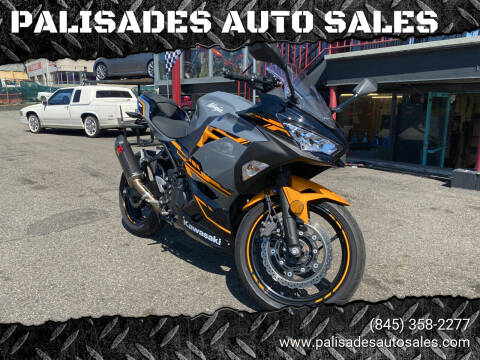 2018 Kawasaki Ninja 400 abs for sale at PALISADES AUTO SALES in Nyack NY
