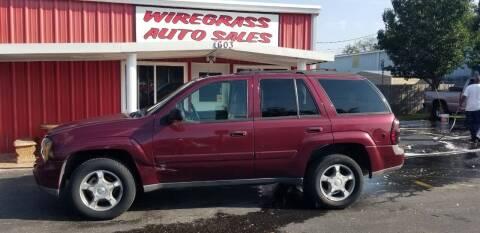 2005 Chevrolet TrailBlazer for sale at WIREGRASS AUTO SALES in Dothan AL