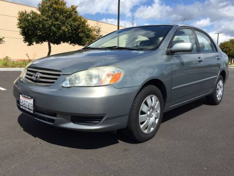 2003 Toyota Corolla for sale at 707 Motors in Fairfield CA