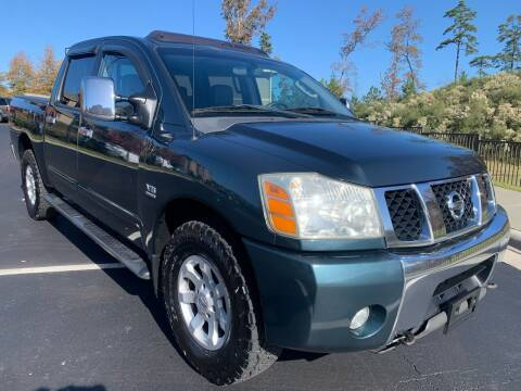 2004 Nissan Titan for sale at LA 12 Motors in Durham NC