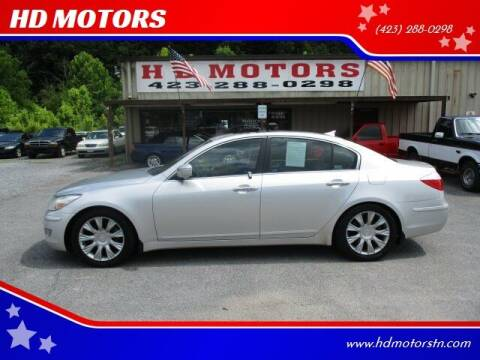 2009 Hyundai Genesis for sale at HD MOTORS in Kingsport TN