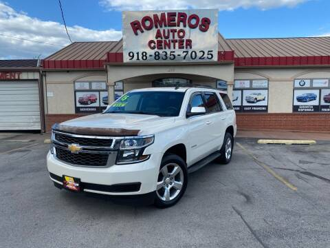 2015 Chevrolet Tahoe for sale at Romeros Auto Center in Tulsa OK