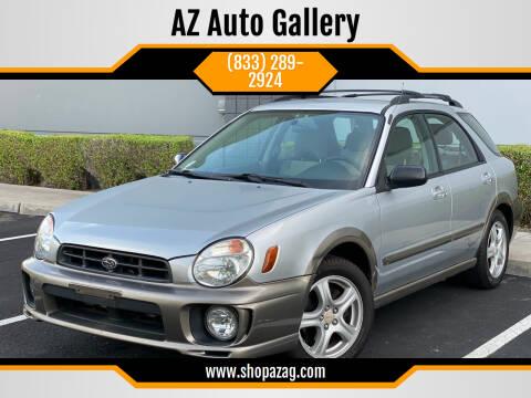 2002 Subaru Impreza for sale at AZ Auto Gallery in Mesa AZ