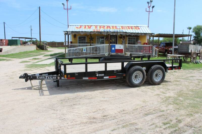 East Texas Utility Trailer  for sale at J IV Trailers in Donna TX