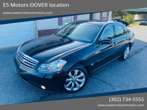 2006 Infiniti M35 for sale at ES Motors-DAGSBORO location - Dover in Dover DE