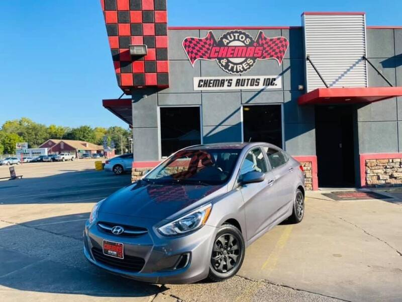 2017 Hyundai Accent for sale at Chema's Autos & Tires in Tyler TX