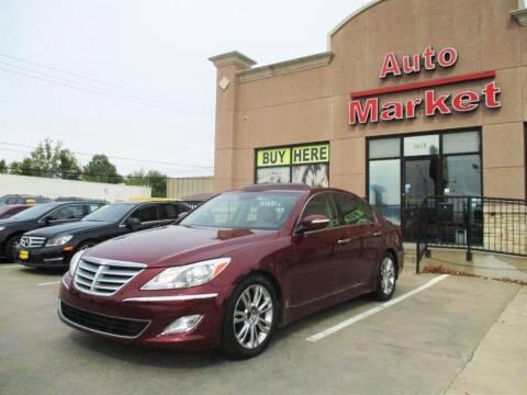 2013 Hyundai Genesis for sale at Auto Market in Oklahoma City OK